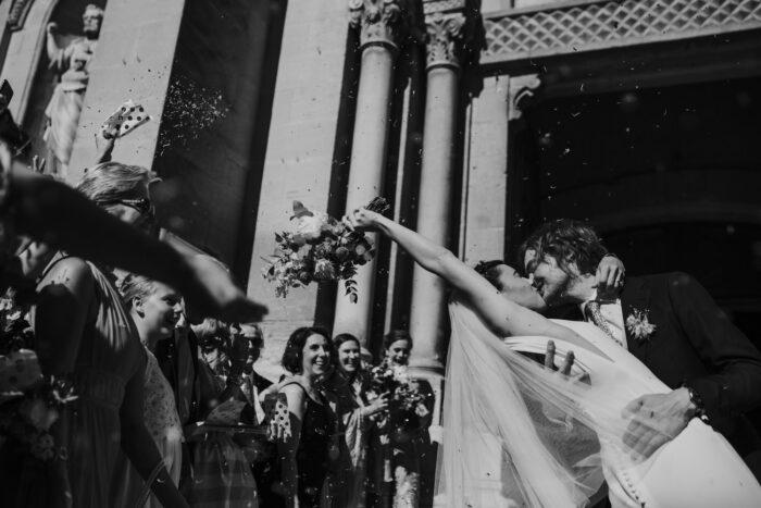 Morgan and Hadrien's French alfresco wedding