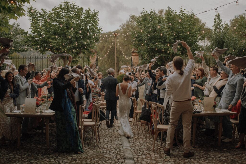 Majorca wedding weekend with an outside ceremony Pomme and Dan Coralie Monnet 182