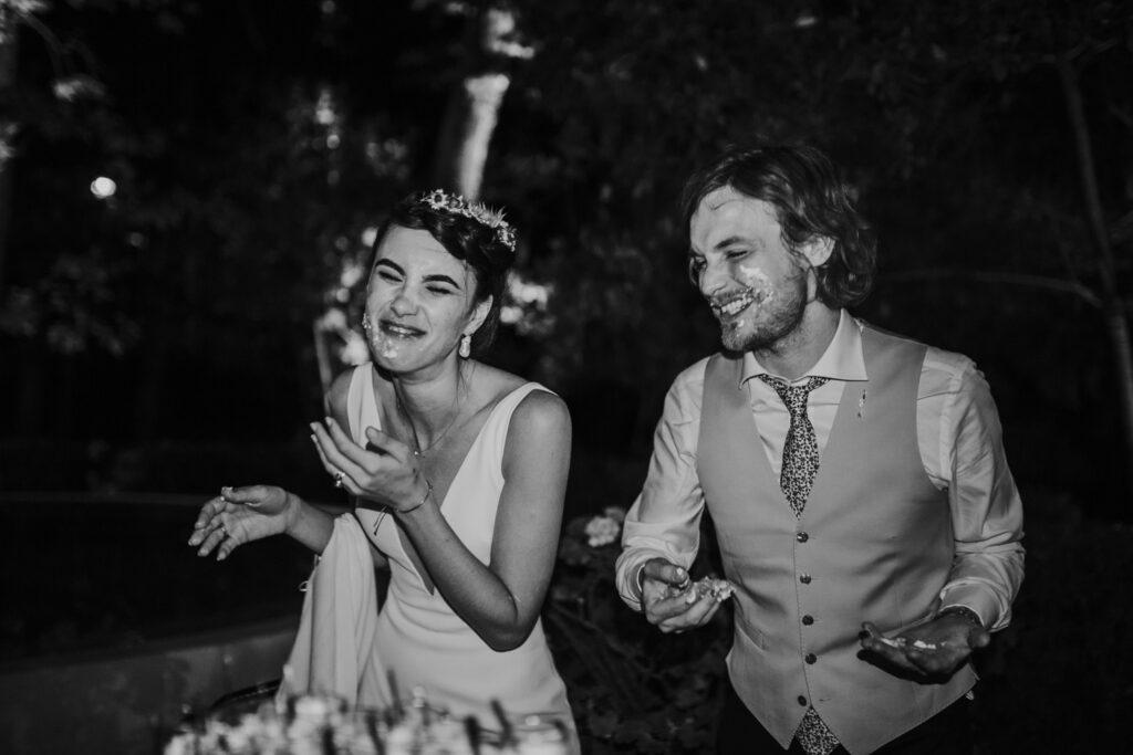modern alfresco wedding in a french chateau Coralie Monnet 139
